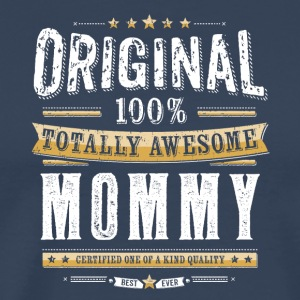 Original 100% Awesome Mommy - Männer Premium T-Shirt