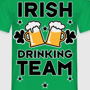 Irish Drinking team St. Patricks Day Alcohol Shirt - Männer T-Shirt