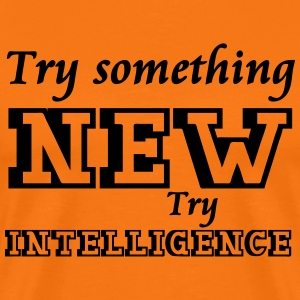 Try Intelligence - Männer Premium T-Shirt