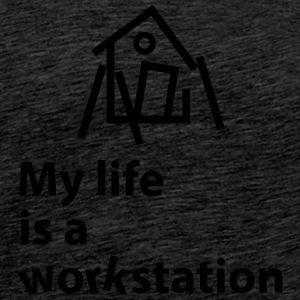 Workstation - Männer Premium T-Shirt