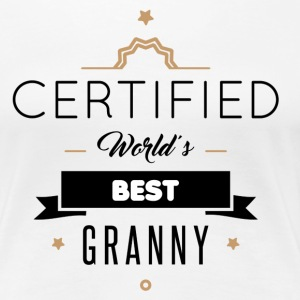 WORLD'S BEST GRANNY T-Shirts - Women's Premium T-Shirt