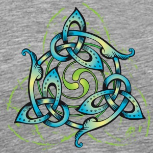 Celtic Flower - Men's Premium T-Shirt