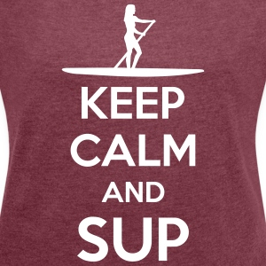 SUP - Stand up paddeling Tee shirts - T-shirt Femme à manches retroussées