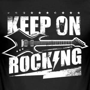 Rock Rockmusik Rocker Heavy Metal Rocking T-Shirts - Männer Slim Fit T-Shirt