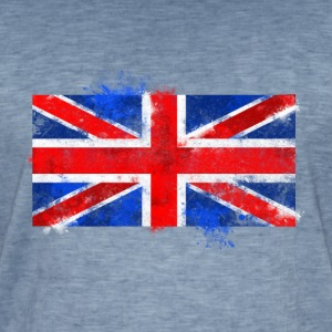 UK flag Tee shirts - T-shirt vintage Homme