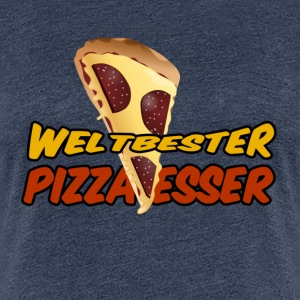 Weltbester Pizza-Esser - Frauen Premium T-Shirt