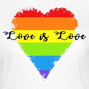 Love is Love T-Shirts - Frauen T-Shirt