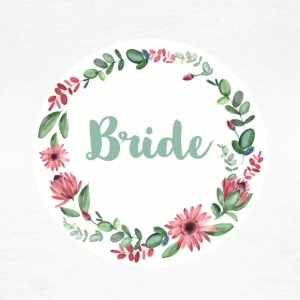 (bride_flower_1) T-Shirts - Frauen T-Shirt