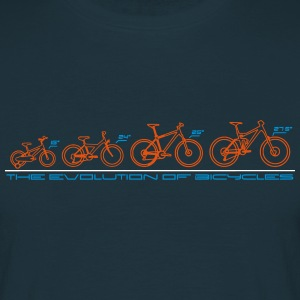 The Evolution of Bicycles T-Shirts - Men's T-Shirt