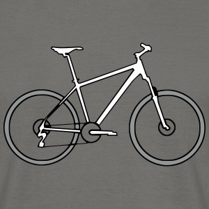 Hardtail farbig T-Shirts - Men's T-Shirt