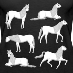 Andalusians selection Tops - Women's Premium Tank Top