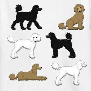 Poodle selection Shirts - Kids' T-Shirt
