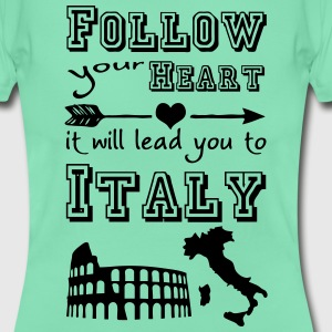 Heart leads you to Italy T-Shirts - Frauen T-Shirt