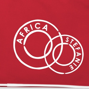 Red/white Africa Bags  - Retro Bag