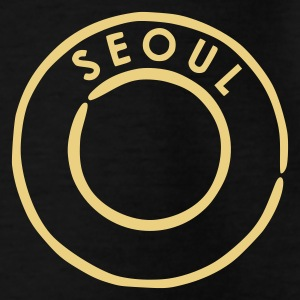 Black Seoul Kids' Shirts - Teenage T-shirt
