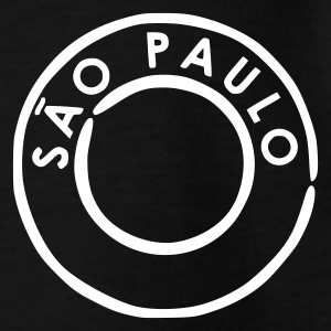 Schwarz Sao Paulo Kinder T-Shirts - Teenager T-Shirt