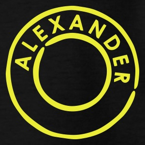 Black Alexander - Alex Kids' Shirts - Teenage T-shirt