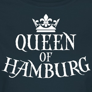 Queen of Hamburg Krone Kiez Königin T-Shirt - Frauen T-Shirt