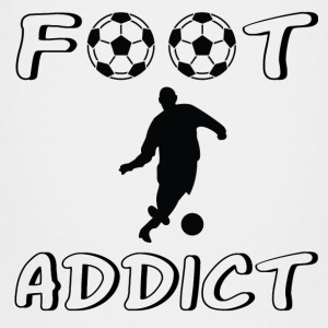 Foot addict Skjorter - Premium T-skjorte for barn