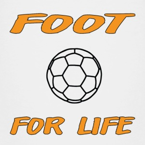 Foot for life T-shirts - Premium-T-shirt barn