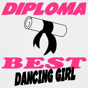 Diploma best dancing girl Shirts - Teenage Premium T-Shirt
