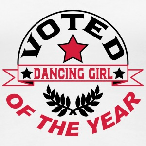 Voted dancing girl of the year T-Shirts - Women's Premium T-Shirt
