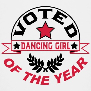 Voted dancing girl of the year Shirts - Teenage Premium T-Shirt