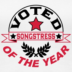 Voted songstress T-Shirts - Women's Premium T-Shirt