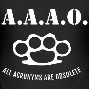 A.A.A.O. T-Shirts - Männer Slim Fit T-Shirt