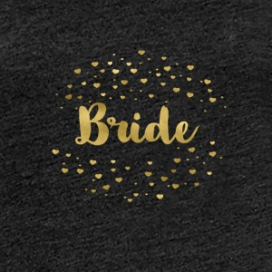 bride_gold_heart T-skjorter - Premium T-skjorte for kvinner