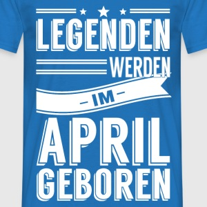 April T-Shirts - Männer T-Shirt