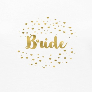bride_gold_heart Long Sleeve Shirts - Women's Premium Longsleeve Shirt