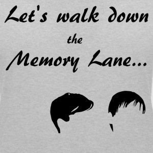 Let's walk down the Memory Lane... T-Shirts - Frauen T-Shirt mit V-Ausschnitt