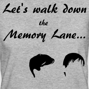 Let's walk down the Memory Lane... T-Shirts - Frauen Bio-T-Shirt