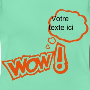 Wow bubble thinking blank add text T-Shirts - Women's T-Shirt