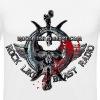 BloodSkull3.png - Slim Fit T-shirt herr