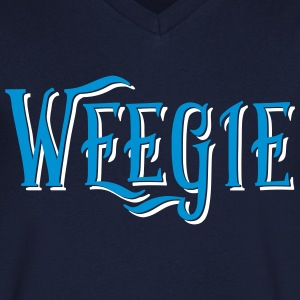 Weegie, Glasgow Slang T-Shirts - Men's V-Neck T-Shirt
