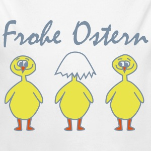 FROHE OSTERN - Happy Easter Baby & Kleinkinder - Baby Bio-Langarm-Body
