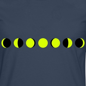 moon, phases of the moon - lune Manches longues - T-shirt manches longues Premium Homme