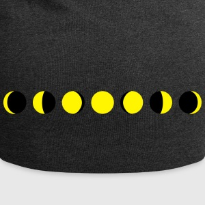 moon, phases of the moon - luna Cappelli & Berretti - Beanie in jersey
