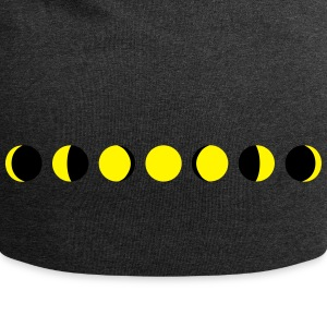 moon, phases of the moon, månen Kasketter & huer - Jersey-Beanie