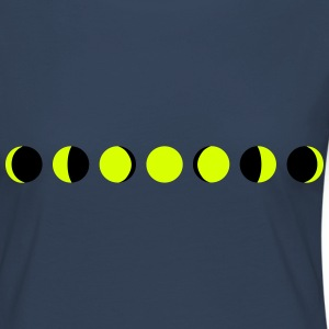 moon, phases of the moon Long Sleeve Shirts - Women's Premium Longsleeve Shirt