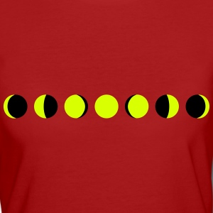 moon, phases of the moon - luna Magliette - T-shirt ecologica da donna