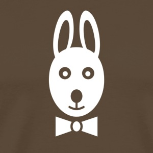 Tux and Rabbit - T-shirt Premium Homme