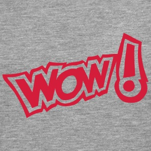 wow exclamation expression 2 Manches longues - T-shirt manches longues Premium Homme