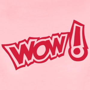 wow exclamation expression 2 Tee shirts - T-shirt Premium Femme