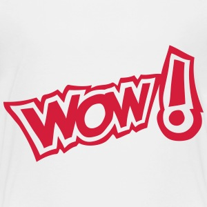 Wow exclamation expression 2 Shirts - Kids' Premium T-Shirt