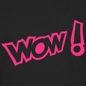 wow exclamation expression Manches longues - T-shirt manches longues Premium Homme