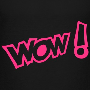Wow exclamation expression Shirts - Kids' Premium T-Shirt