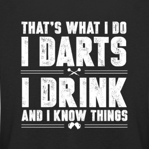 Darts and alcohol Long Sleeve Shirts - Kids' Premium Longsleeve Shirt